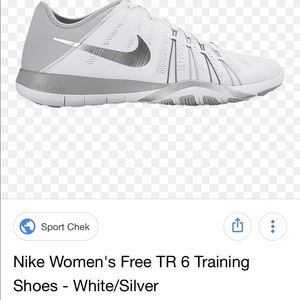 Nike Free cheer tennis shoes size US 7 light euc